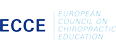 european council on chiropractic education chiropraktik logo